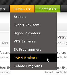 Pamm forex brokers list