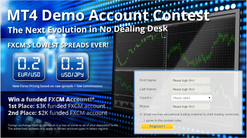 Fxcm king forex trading competition