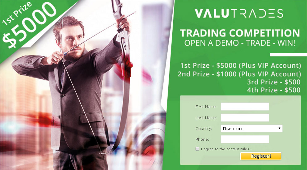 Stock option trading contest